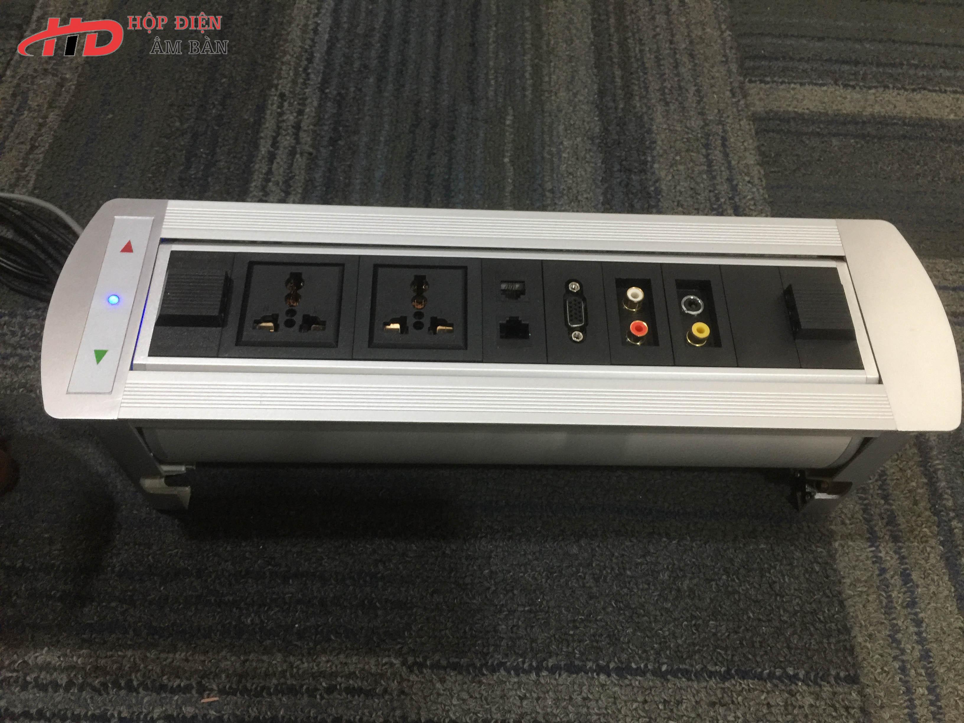 Hộp điện âm bàn HDMD-SA4.5