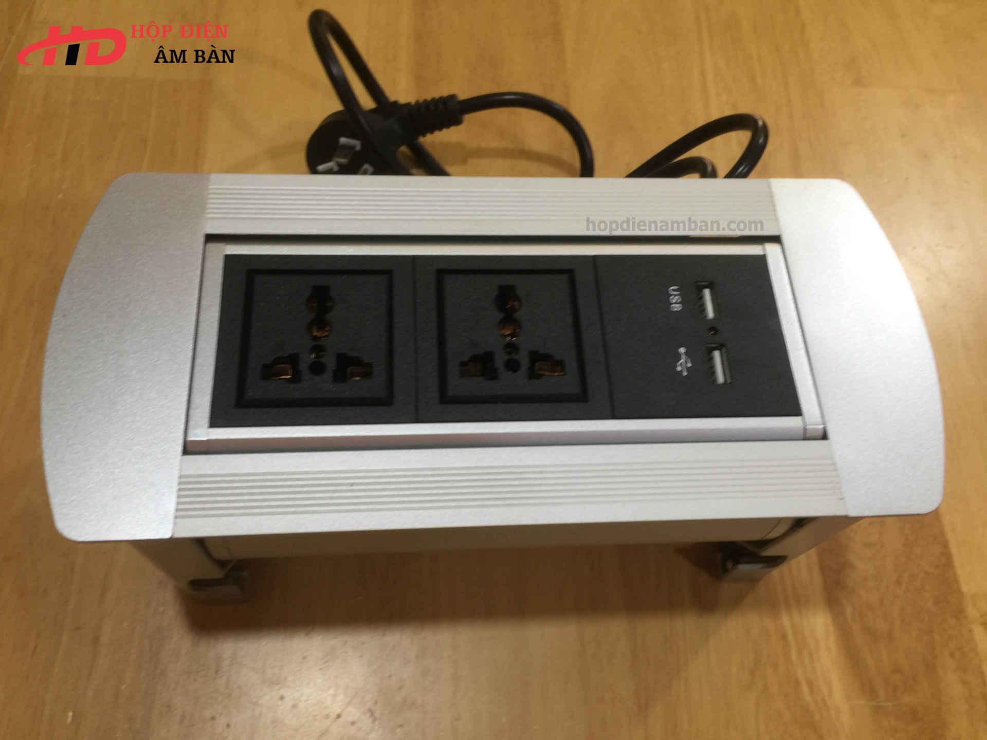 Hộp điện âm bàn HDMD-SM3