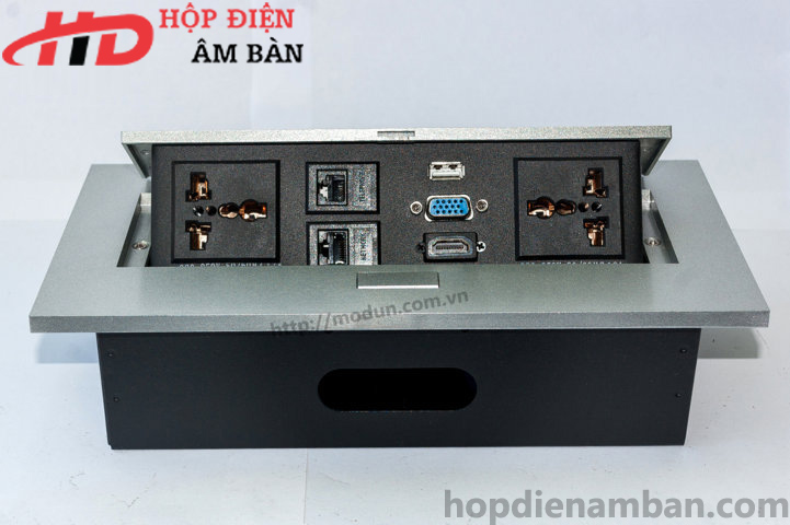 Hộp Điện Nhôm HD-MD266-G
