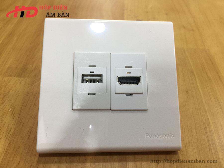 Mặt nạ vuông có HDMI, USB