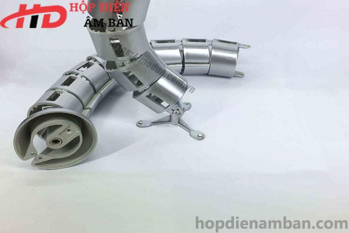 Ống luồn dây điện bàn văn phòng HD-MDX01